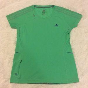 Adidas Lime Green Supernova T-Shirt